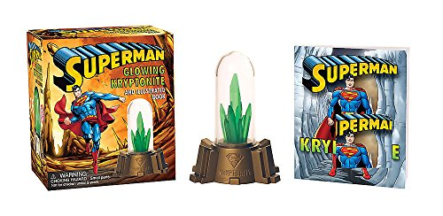 Superman: Glowing Kryptonite and Illustrated Book (RP Minis)