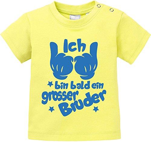 EZYshirt EZYshirt® Ich bin Bald EIN grosser Bruder Baby T-Shirt
