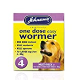 Johnson's One Dose Wormer for Dogs...