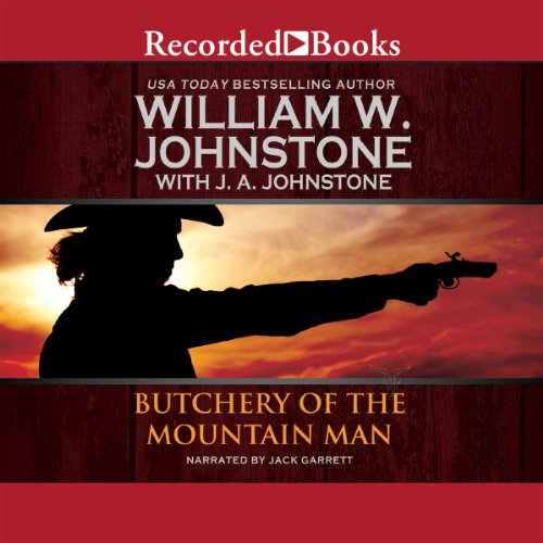 Butchery of the Mountain Man audiobook cover art