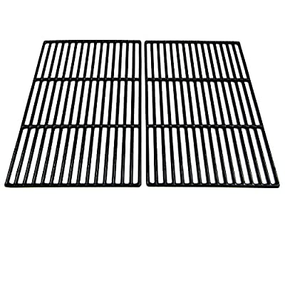 Direct Store Parts DC103 Polished Porcelain Coated Cast Iron Cooking Grid Replacement Brinkmann, Grill Chefs, Grill Zone Gas Grill