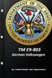 TM E9-803 German Volkswagen by United States. War Department