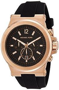 Michael Kors Reloj Cronógrafo para Hombre de Cuarzo con Correa en Silicona MK8184