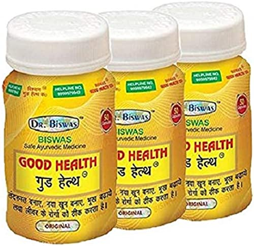 Dr Biswas Good Health 50 Capsules Pack Of 3