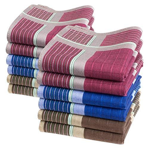 Pañuelos de caballero - 40 centimetros - modelo Marius - 6 o 12 piezas.