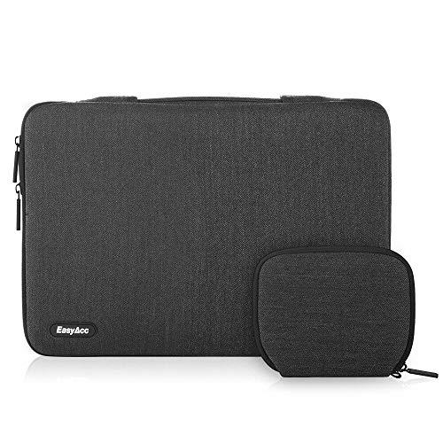 EasyAcc 13-13.3 Zoll Laptoptasche Sleeve Hülle mit Griffen und Zubehörtasche, Tragbare Laptop Tasche Tragetasche für 13.3