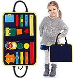 Beschäftigtes Brett Für Kleinkinder, Baby Busy Board Montessori Spielzeug Montessori Toy Essential Educational Sensory Board Für Kleinkinder,Activity Board...