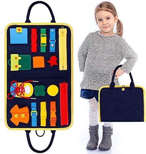 Beschäftigtes Brett Für Kleinkinder, Baby Busy Board Montessori Spielzeug Montessori Toy Essential Educational Sensory Board Für Kleinkinder,Activity Board für Kinder Beste Spielzeug & Geschenke