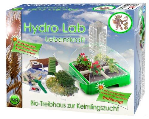 HydroLab Bio Gartenlabor Experimentierkasten Ökosystem Keimlingsstation Gewächshaus