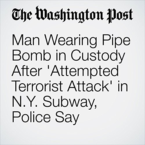 Man Wearing Pipe Bomb in Custody After 'Attempted Terrorist Attack' in N.Y. Subway, Police Say copertina
