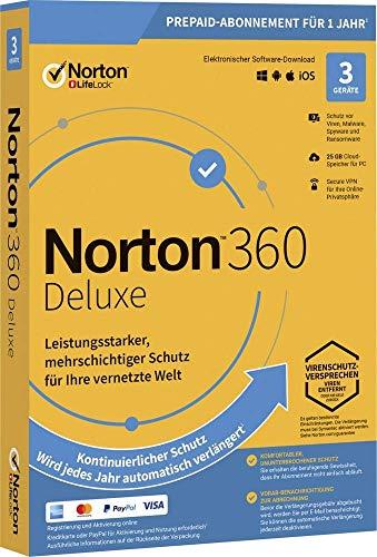 Symantec NORTON 360 DELUXE 25GB GE