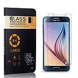 2 Stück Panzerglasfolie Schutzfolie Kompatibel mit Galaxy S6, LAFCH HD Klar Gehärtetem Glas Displayschutzfolie für Samsung Galaxy S6