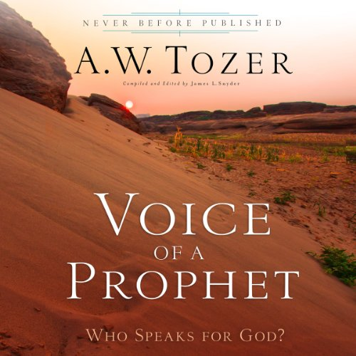 Voice of a Prophet audiobook cover art