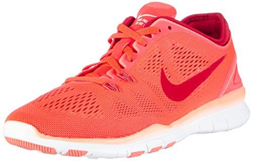 Nike Damen Free 5.0 TR Fit 5e Hallenschuhe, Pink (Pink/rot), 39 EU