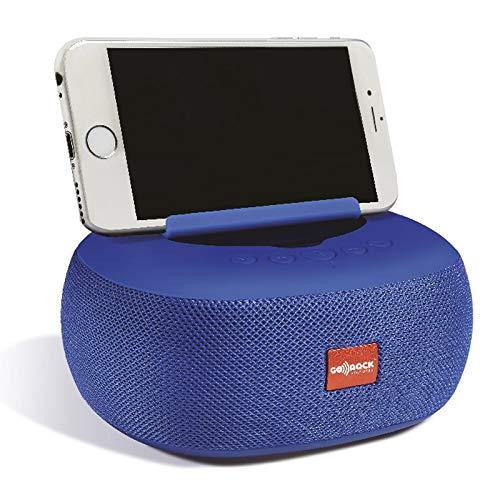 Altavoz portátil Bluetooth 4.0 y tecnología TWS, con Soporte para el teléfono. Potencia: 8W GO-ROCK GR-44 (Rojo)