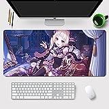 Princess Connect Re:DiveAnime Mouse Pad Yuki Gaming Mousepad Mousepad Long Mouse Mat Keyboad Mousepad Home Office Computer Gaming Mouse Pad Laptop Play Mat Animation Peripheral Products