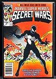 Marvel Secret Wars #8 Comic Book Cover Refrigerator Magnet.