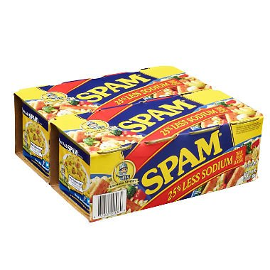 Clearance SALE Limited time PACK OF 12 - Spam 25% Can Meat Less Sodium oz. Canned 67% OFF of fixed price