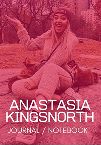 Anastasia Kingsnorth Notebook/Journal: Personalized Girl Name Notebook a cute Notebook Birthday Gift is a 120 pages Simple and elegant Notebook on a ... for men, Perfect gift for valentines day