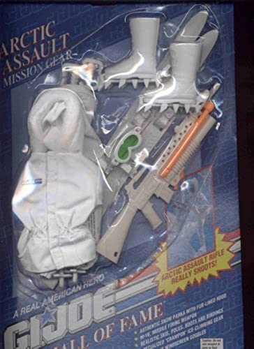 gran selección y entrega rápida G.I Joe Hall Hall Hall of Fame  Arctic Assault Mission Gear  by Hasbro  marca