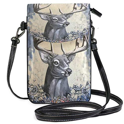 XCNGG bolso del teléfono Deer Cell Phone Purse Wallet for W