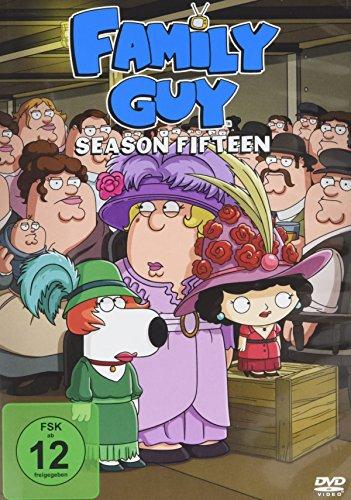 Family Guy - Season 15 (3 DVDs)