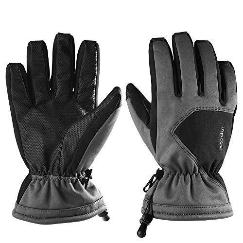 Ski-Handschuhe Warm Handschuh Snowboard Handschuh Fahrrad Handschuh Touch Panel Unterstützung windundurchlässiges Raincoat Airflow Isolierung 3M Feinstsichter Isolationsmaterial Fleece Brushed wasserd