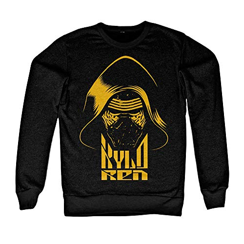 Officiellement Marchandises sous Licence Kylo Ren LS Sweatshirt (Noir), Large