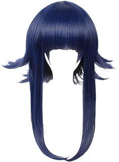 DAZCOS Shippuden Hyuga Hinata Cosplay Costume Wig Blue (Hinata)
