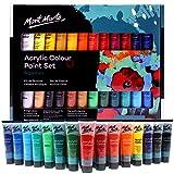 Mont Marte Acrylfarben -Set 24Farben 36ml perfekt für Künstler