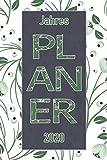 Jahres Planer 2020: Notizheft Terminkalender Jahresplaner Terminplaner für das Jahr 2020 |  Wochenplaner mit 120 Seiten und je zwei Seiten pro Woche ... und notieren | übersichtlich und praktisch