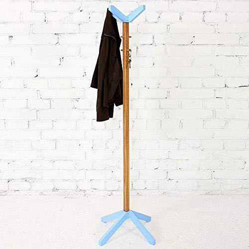 MDS Le portant pour vêtements RUBY en chêne massif : astucieux, efficace, solide ! Un gain de place, un design gai et intemporel. - Chêne massif