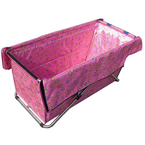Baignoire Creative Light Pliante intérieure imperméable à l'eau épaississement Adulte Portable Non Gonflable (Couleur : D, Taille : 117 * 52cm)