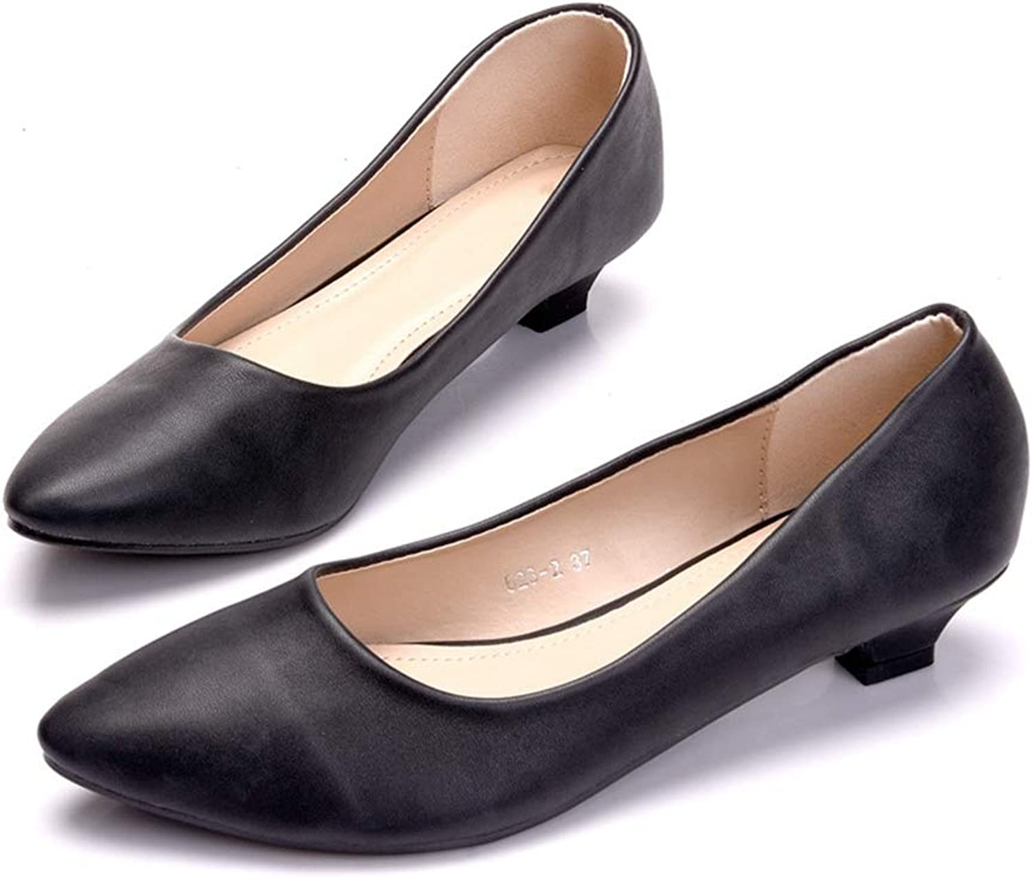 Women Flats shoes Black Pointed Toe Comfort Casual Dress Flats shoes
