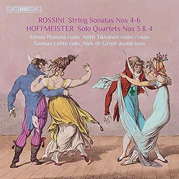 Rossini: Sonatas for Strings Nos. 4-6 – Hoffmeister: Double Bass Quartets Nos. 3 & 4
