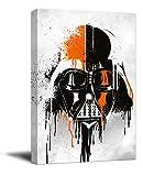 YITUOMO Darth Vader - Decoración de pared para baño (40,64 x 60,96 cm), diseño de Star Wars The Last Jedi