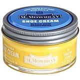 [エム・モゥブレィ] シューケア 靴磨き 栄養 保革 補色 ツヤ出しクリーム シュークリームジャー イエロー 50ml