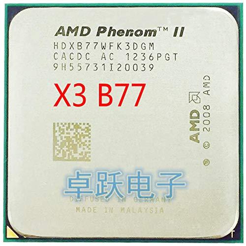 Phenom II X3 B77 3.2 GHz Triple-Core CPU Processor Socket AM3 X3-B77