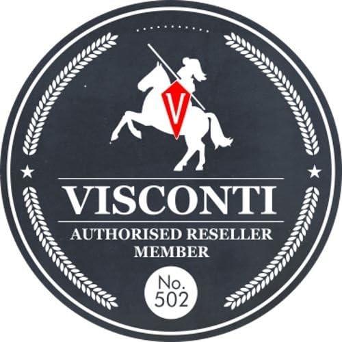 Visconti Porte-Carte de Voyage en Cuir TC1TC Noir