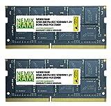 Nemix Ram - Memoria DDR4-2933 (64 GB, 2 módulos de 32 GB, PC4-23400, ECC, SODIMM, 2Rx8)