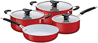 Tramontina - 7 Pcs Cookware Set with Ceramic covering inside