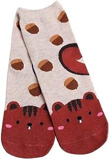 DEELIN Sale Christmas Socks Xmas Gift Womens Socks Breathable Casual Soft Socks Unisex Socks Mens Novelty Cute Dog Print T...