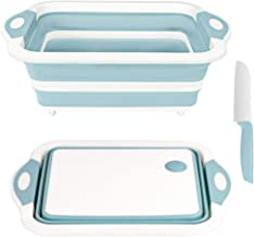 Rottogoon Collapsible Cutting Board, Foldable Chopping...