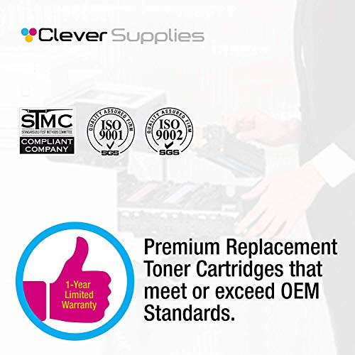 CS Compatible Toner Cartridge Replacement for HP 504A CE252A Yellow Color Laserjet CM3530 CM3530FS CP3525 CP3525N CP3525DN CP3525X CP3520 CM3530FS MFP CM3530MFP Photo #5