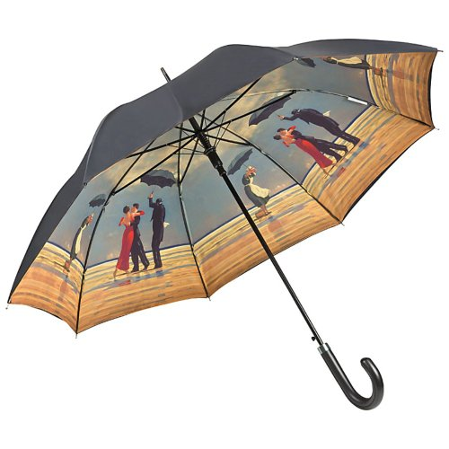 VON LILIENFELD Regenschirm Automatik Damen Motiv Double Layer Jack Vettriano: Singing Butler