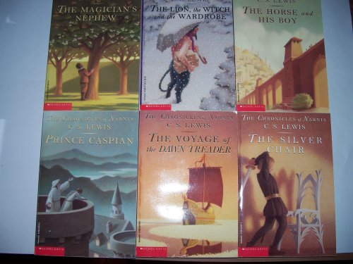 scholastic book sets The Chronicles of Narnia Scholastic Box Set (Book One Through Book Seven)