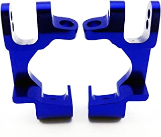 Atomik RC Traxxas XO-1 1:7 Aluminum Alloy Front Caster Block Hop Up Upgrade, Blue Replaces Traxxas Part 6832
