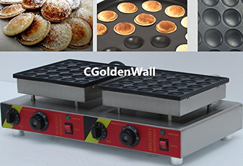 cgoldenwall np-543 RVS dubbele koppen automatische poffertjes grill poffertjes machine grill wafelmachine wafelmachine wafelmachine wafelmachine 220 V/110 V CE-certificering