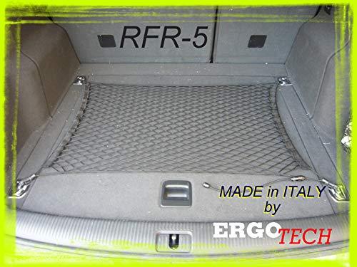 Ergotech S.r.l. Rete fermabagagli Bagagliaio Regolabile per Auto (80/100 x 45/70)