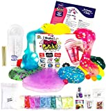 No Glue. Shake Slime Kit for Girls and Boys for 10 Kinds of Shaker Slime. No Mess. Just Add Water, Mix, and...